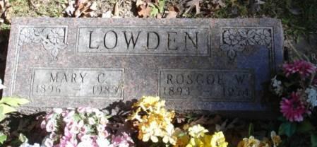 LOWDEN, ROSCOE W - Dallas County, Iowa | ROSCOE W LOWDEN