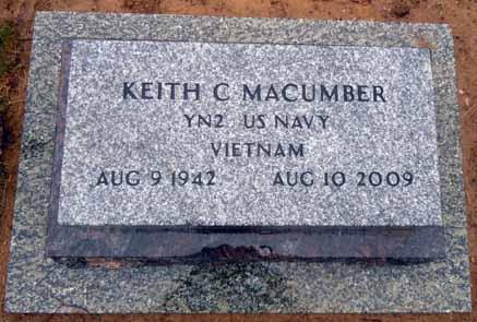 MACUMBER, KEITH C - Dallas County, Iowa   KEITH C MACUMBER