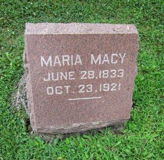 MACY, MARIA - Dallas County, Iowa   MARIA MACY