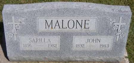 MALONE, JOHN - Dallas County, Iowa | JOHN MALONE