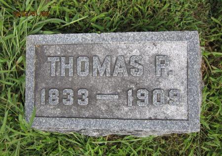 MANN, THOMAS P - Dallas County, Iowa   THOMAS P MANN