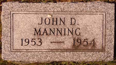 MANNING, JOHN D. - Dallas County, Iowa   JOHN D. MANNING