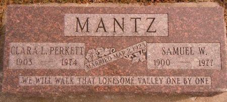 MANTZ, CLARA L. - Dallas County, Iowa | CLARA L. MANTZ