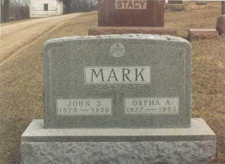 MARK, JOHN SYLVESTER - Dallas County, Iowa | JOHN SYLVESTER MARK