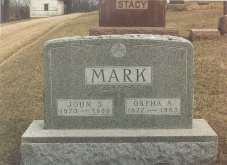 MARK, ORPHA A. - Dallas County, Iowa | ORPHA A. MARK