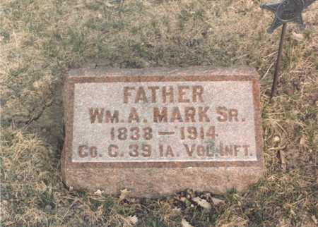 MARK, WM A SR - Dallas County, Iowa | WM A SR MARK