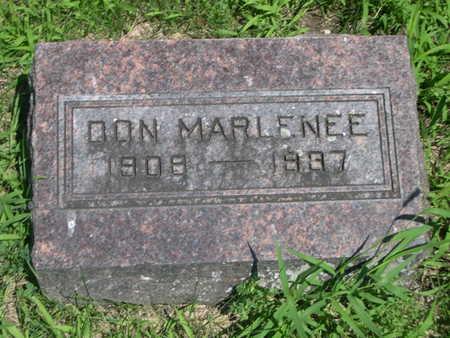MARLENEE, DON - Dallas County, Iowa | DON MARLENEE
