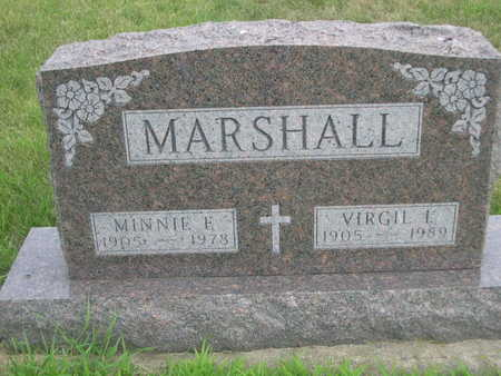 MARSHALL, MINNIE E. - Dallas County, Iowa | MINNIE E. MARSHALL