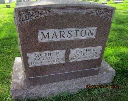 MARSTON, ARTHUR B - Dallas County, Iowa | ARTHUR B MARSTON
