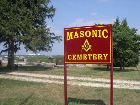 MASONIC, ENTRANCE TO - Dallas County, Iowa | ENTRANCE TO MASONIC