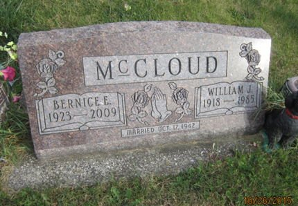 MCCLOUD, BERNICE E - Dallas County, Iowa   BERNICE E MCCLOUD