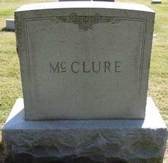 MCCLURE, FAMILY STONE - Dallas County, Iowa   FAMILY STONE MCCLURE