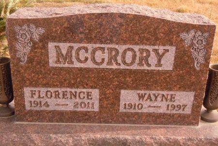 MCCRORY, WAYNE - Dallas County, Iowa   WAYNE MCCRORY