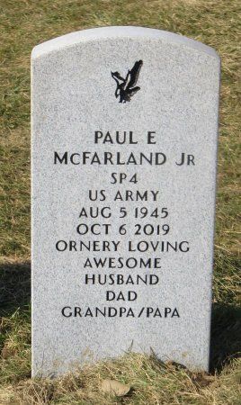 MCFARLAND, PAUL E JR - Dallas County, Iowa | PAUL E JR MCFARLAND