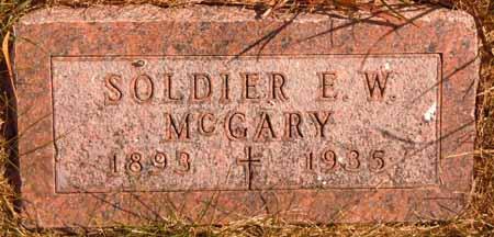 MCGARY, E. W. - Dallas County, Iowa   E. W. MCGARY