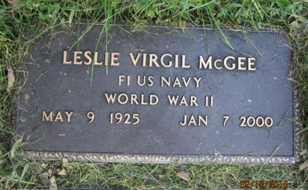 MCGEE, LESLIE VIRGIL - Dallas County, Iowa   LESLIE VIRGIL MCGEE