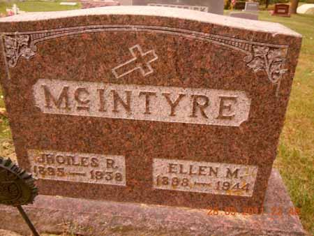 MCINTYRE, JHOILES R. - Dallas County, Iowa   JHOILES R. MCINTYRE