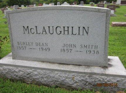 MCLAUGHLIN, BURLEY DEAN - Dallas County, Iowa | BURLEY DEAN MCLAUGHLIN