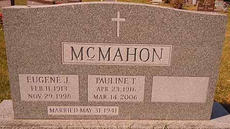 MCMAHON, PAULINE T. - Dallas County, Iowa | PAULINE T. MCMAHON