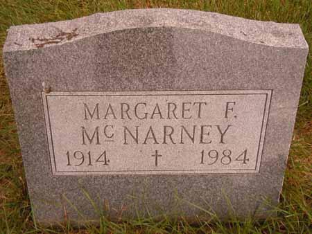 MCNARNEY, MARGARET F. - Dallas County, Iowa   MARGARET F. MCNARNEY
