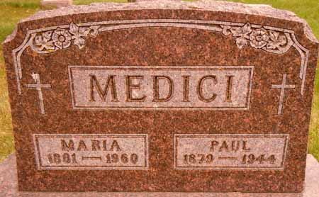 MEDICI, MARIA - Dallas County, Iowa   MARIA MEDICI