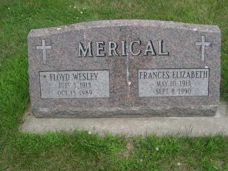 MERICAL, FRANCES ELIZABETH - Dallas County, Iowa | FRANCES ELIZABETH MERICAL