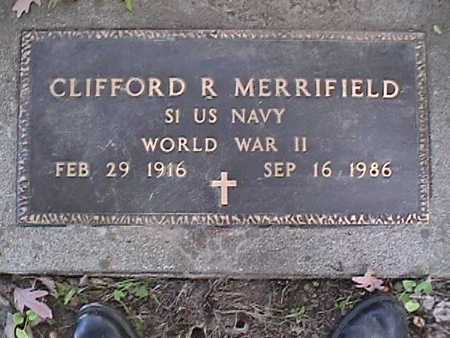 MERRIFIELD, CLIFFORD - Dallas County, Iowa   CLIFFORD MERRIFIELD