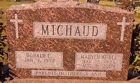 MICHAUD, MARYLU - Dallas County, Iowa   MARYLU MICHAUD