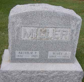 MILLER, MARY J - Dallas County, Iowa | MARY J MILLER