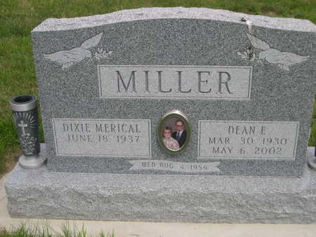MERICAL MILLER, DIXIE MERICAL - Dallas County, Iowa | DIXIE MERICAL MERICAL MILLER