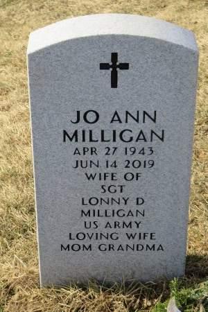 MILLIGAN, JO ANN - Dallas County, Iowa | JO ANN MILLIGAN