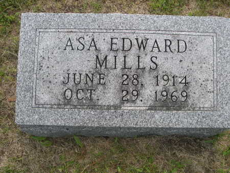 MILLS, ASA EDWARD - Dallas County, Iowa | ASA EDWARD MILLS