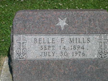 MILLS, BELLE F. - Dallas County, Iowa | BELLE F. MILLS