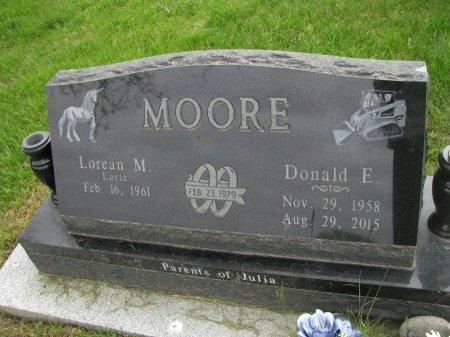 MOORE, DONALD E. - Dallas County, Iowa | DONALD E. MOORE