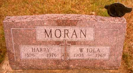 MORAN, HARRY - Dallas County, Iowa   HARRY MORAN
