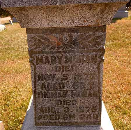MORAN, MARY - Dallas County, Iowa | MARY MORAN