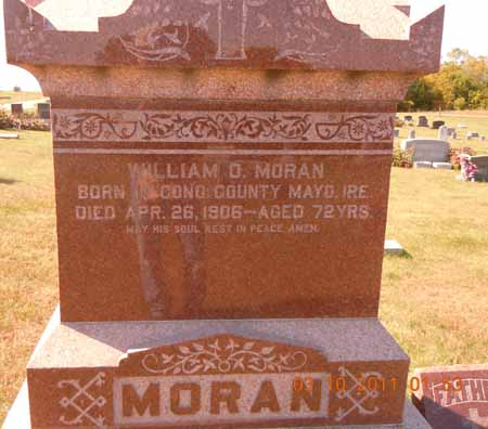 MORAN, WILLIAM D. - Dallas County, Iowa   WILLIAM D. MORAN
