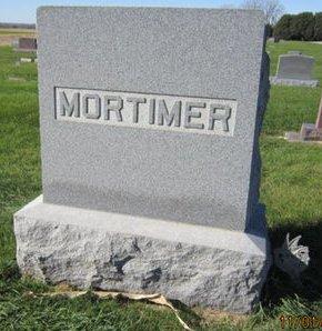 MORTIMER, FAMILY STONE - Dallas County, Iowa   FAMILY STONE MORTIMER