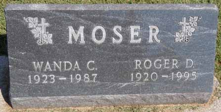 MOSER, ROGER D - Dallas County, Iowa   ROGER D MOSER