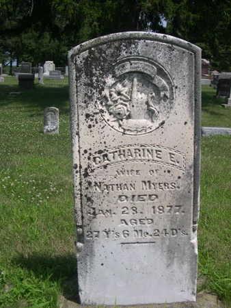 MYERS, CATHERINE E. - Dallas County, Iowa | CATHERINE E. MYERS