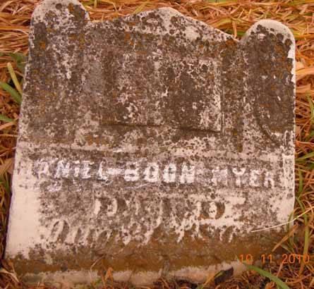 MYERS, DANIEL BOON - Dallas County, Iowa | DANIEL BOON MYERS