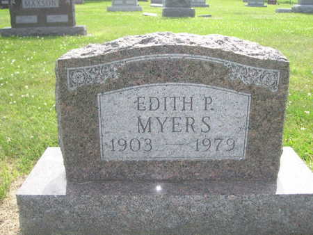 MYERS, EDITH P. - Dallas County, Iowa | EDITH P. MYERS