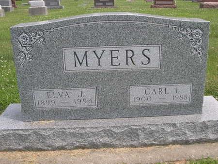 MYERS, ELVA J. - Dallas County, Iowa | ELVA J. MYERS