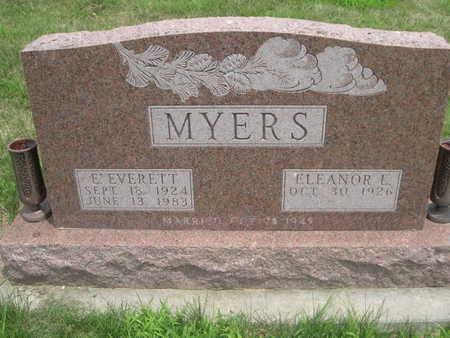MYERS, ELEANOR L. - Dallas County, Iowa | ELEANOR L. MYERS
