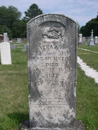 MYERS, ISAAC - Dallas County, Iowa | ISAAC MYERS