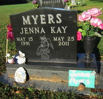 MYERS, JENNA KAY - Dallas County, Iowa | JENNA KAY MYERS