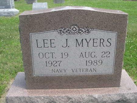 MYERS, LEE J. - Dallas County, Iowa   LEE J. MYERS