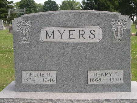 MYERS, NELLIE R. - Dallas County, Iowa | NELLIE R. MYERS