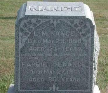 NANCE, L.M. - Dallas County, Iowa | L.M. NANCE