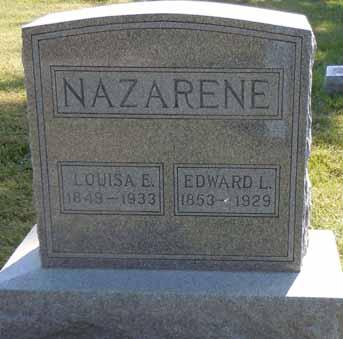 NAZARENE, EDWARD L - Dallas County, Iowa   EDWARD L NAZARENE